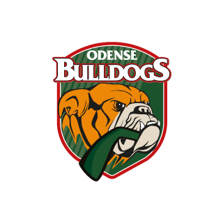 Odense bulldogs print