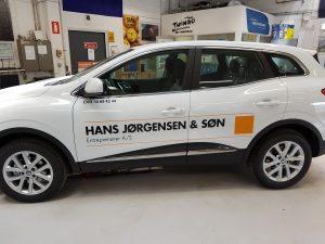 Wrapping til Hans Jørgensen og Søn