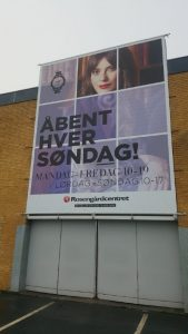 Banner til Rosengårdscenteret